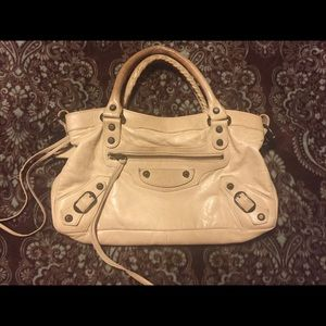 💯 auth BALENCIAGA first classic leather handbag